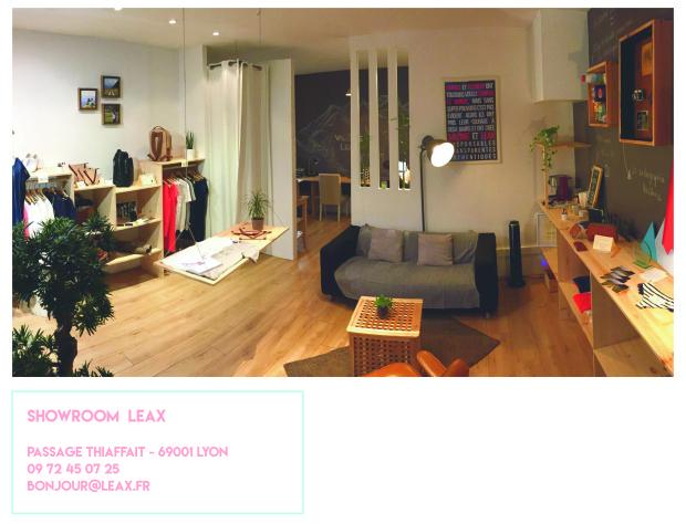 showroom Leax Lyon