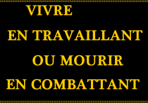 Drapeau des canuts insurgés